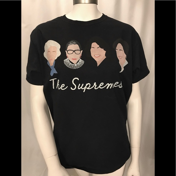 cd9572de599e Fruit of the Loom Tops | The Supremes Female Justices Black Tshirt ...